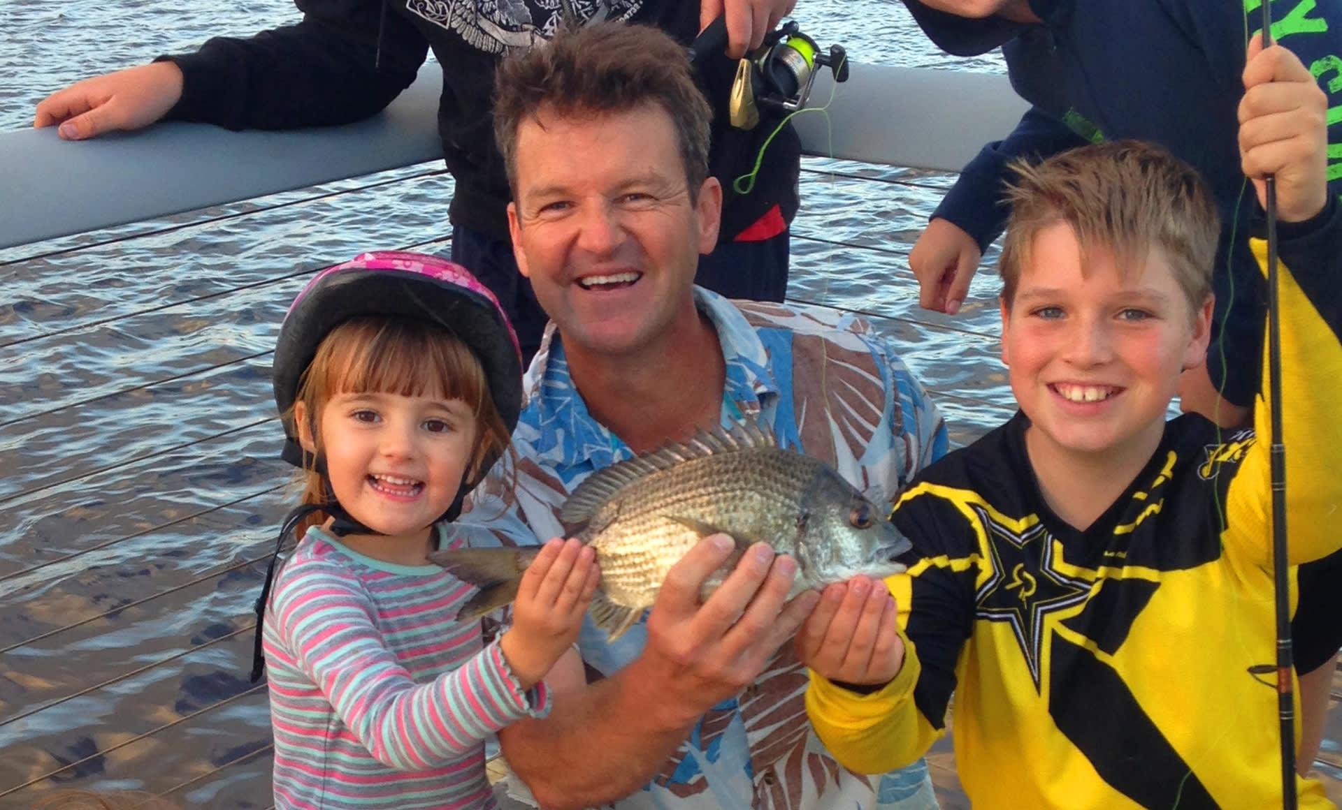 Fishing with kids on the Sunshine Coast