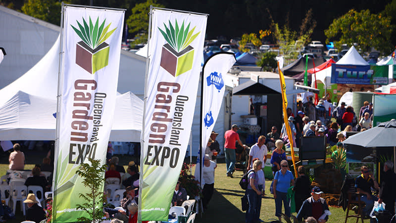Queensland Garden Expo on in July is a must do for all green thumbs!