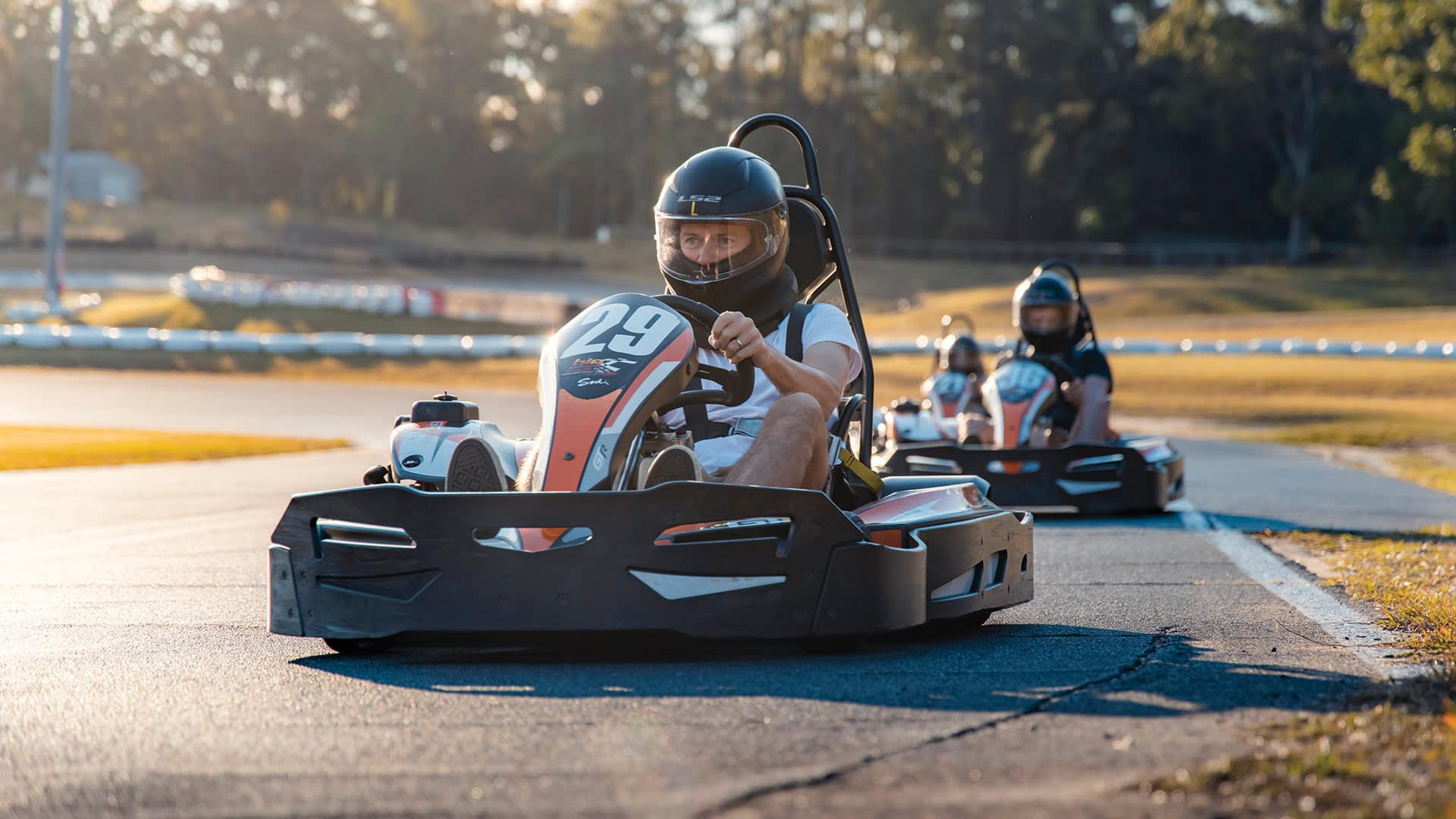 Fathers Day Big Kart Track