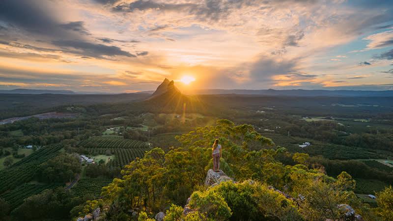 Credit: Jason Charles Hill Mount Ngungun, Glass House Mountains National Park
