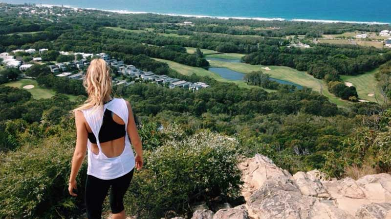Views from the top of Mount Coolum. Photo: Jame Nagel.