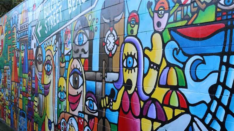Dingle Avenue mural.