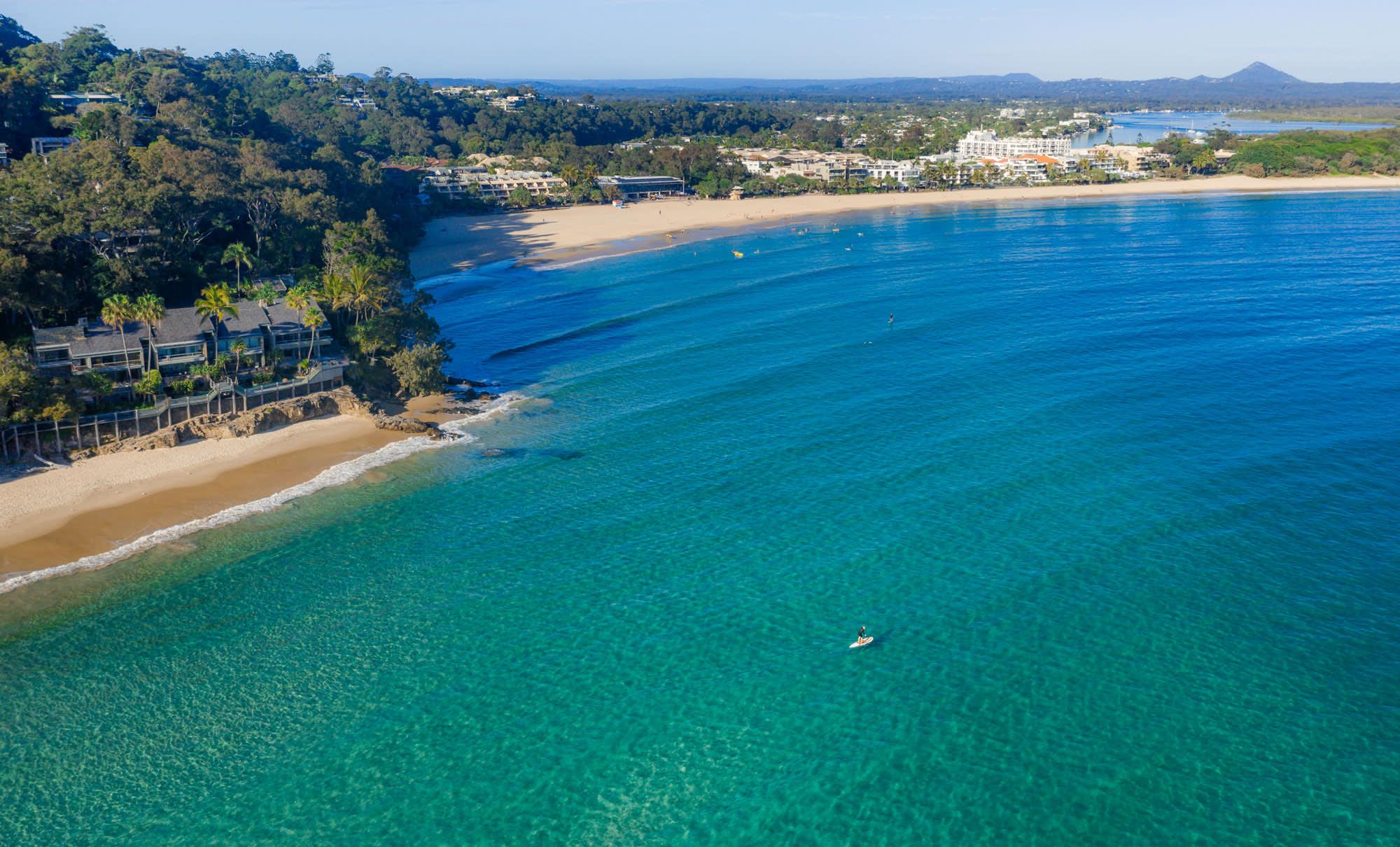 Day 1 – Noosa Main Beach