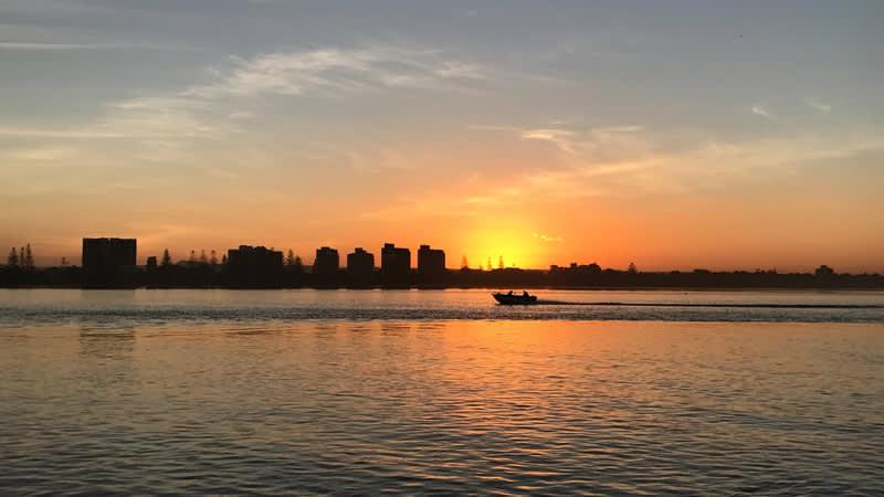 Enjoy spectacular sunsets on a Caloundra Cruise.