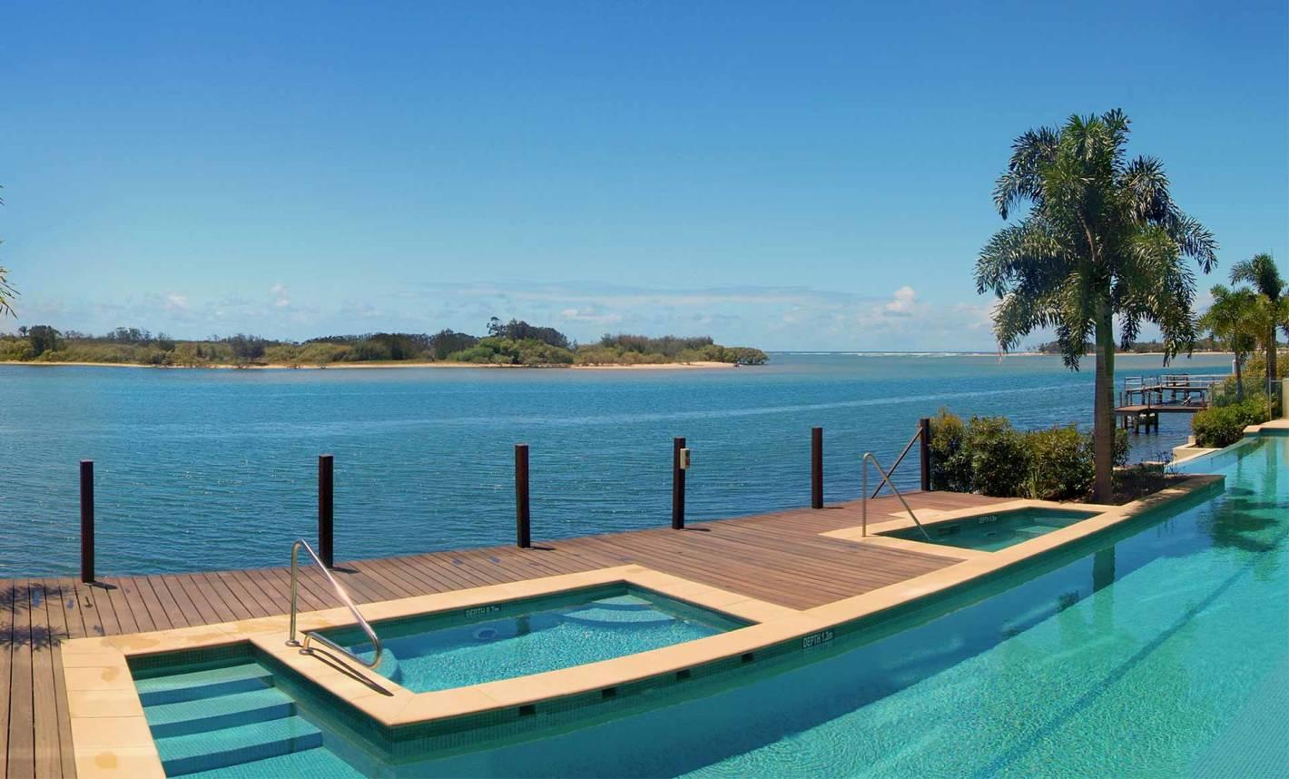 Sunshine Coast pools with epic views