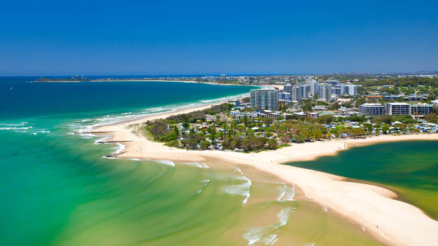 Flights from New Zealand to the Sunshine Coast