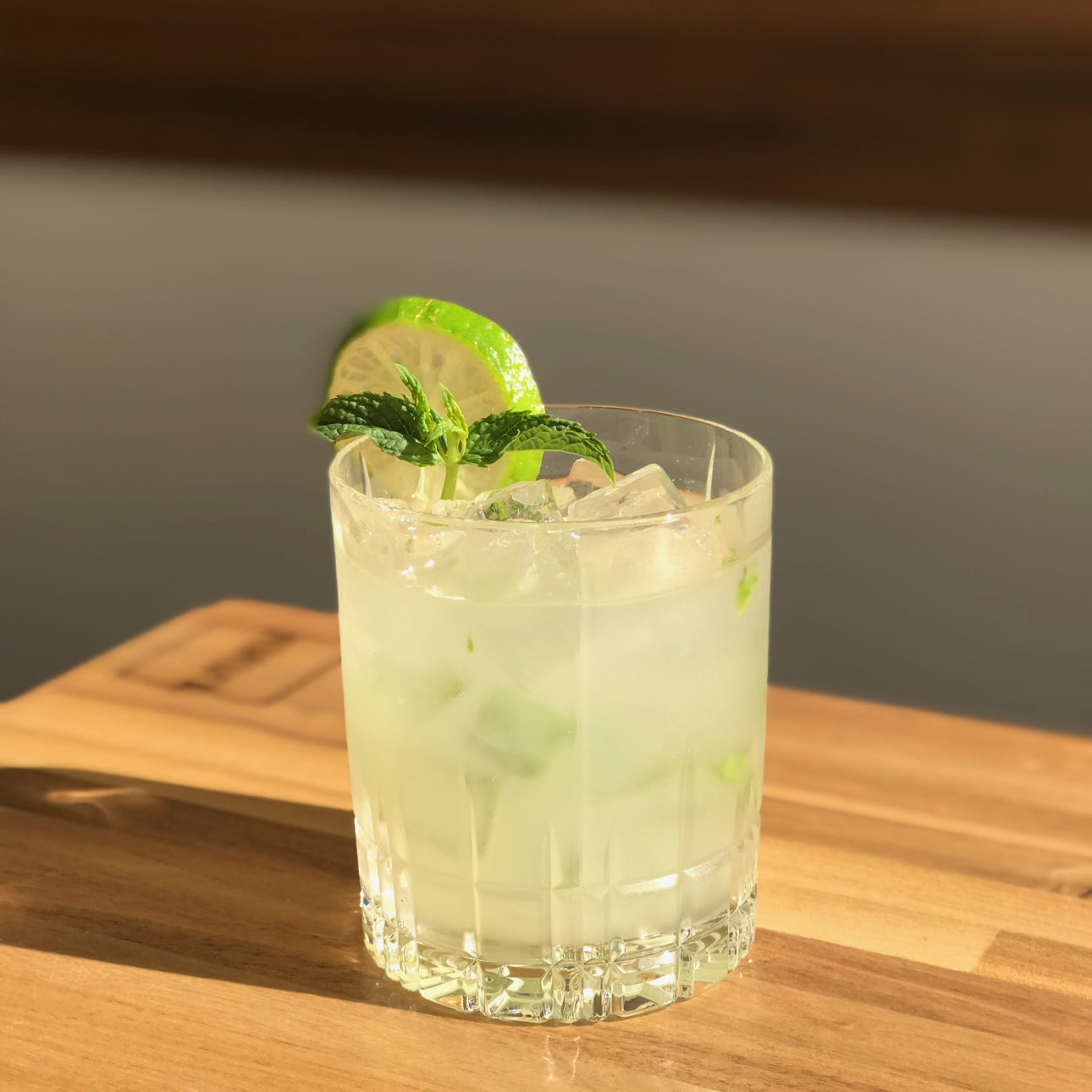 10 vodka mint limeade