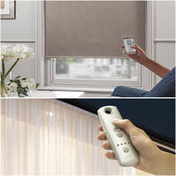 Motorized Blinds & Curtains