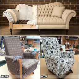 Upholstery / Re-Upholstery Works