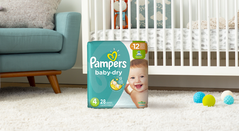 Pampers® Baby-Dry™