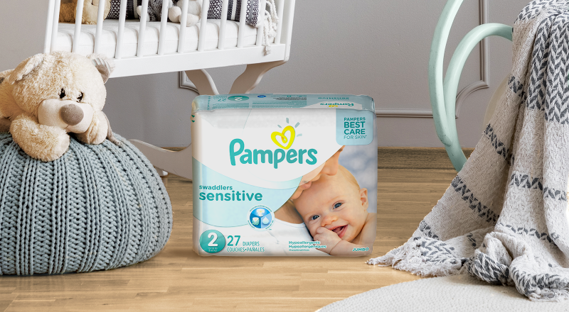 Pampers® Swaddlers Sensitive™