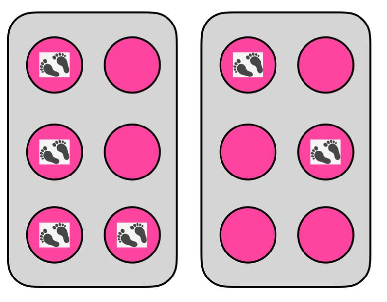 2 hula hoop cells: v and e.