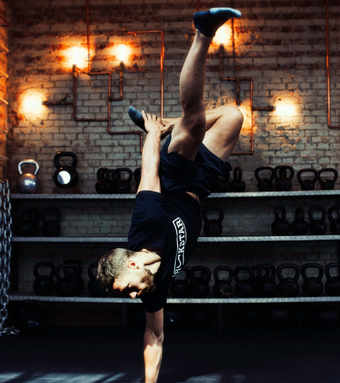 Hero Performance - Training Handstand Rutger