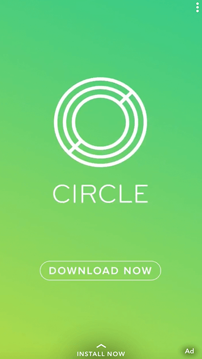 Circle Pay saw a 50% lower cost per first transaction on Snapchat