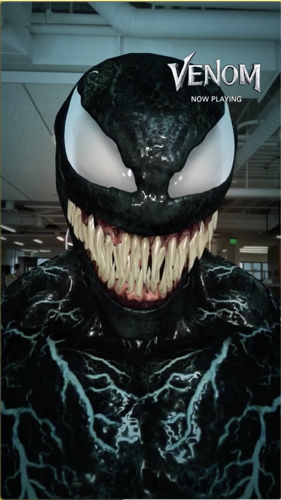 Sony Pictures' Venom Snapchat Campaign Drove 1 Million Incremental  Movie Ticket Sales