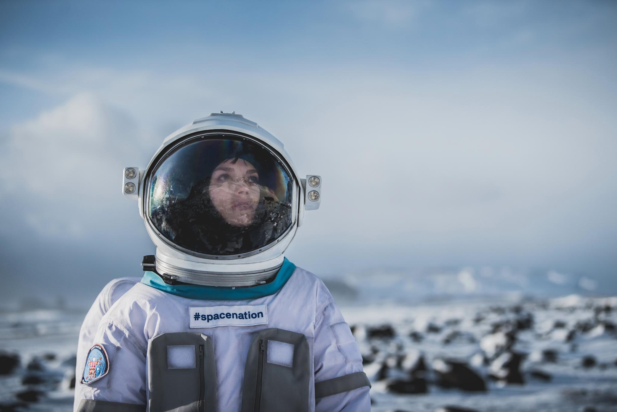 Woman cosmonaut