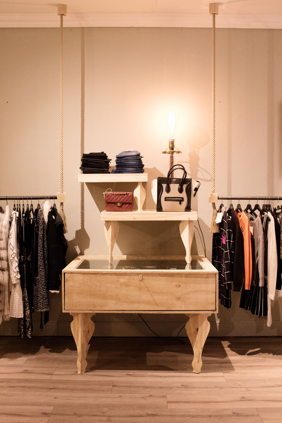 The Pop up Boutique consists of a main
