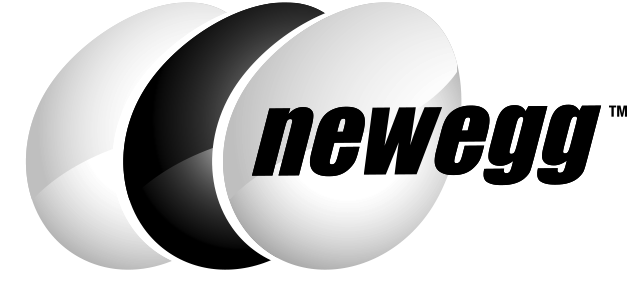 Newegg Logo - Black & White