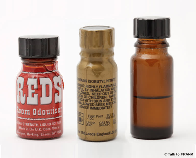 Poppers | Effects of Poppers | FRANK | FRANK