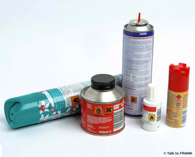 Glues, gases and aerosols | Effects and Risks | FRANK