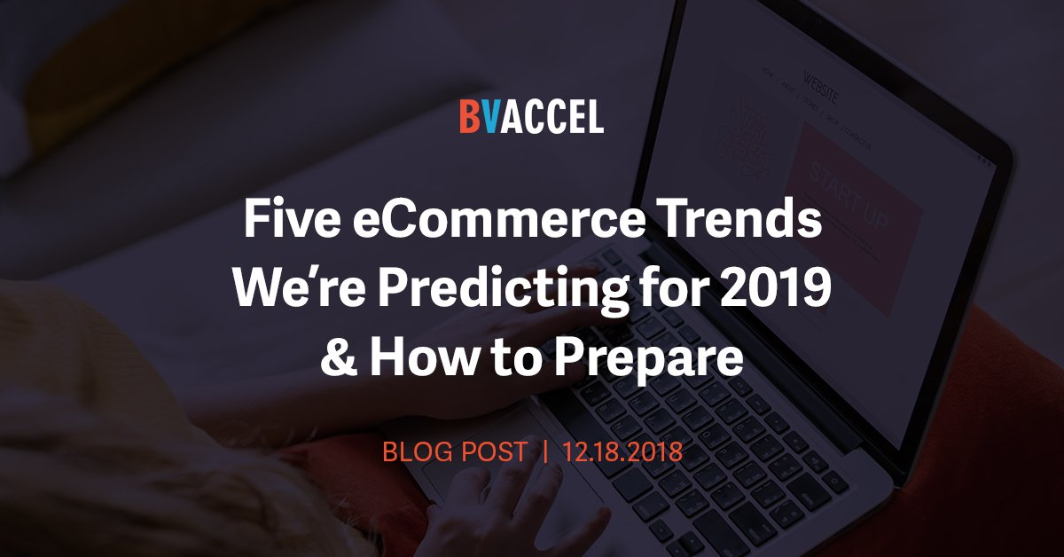 Five eCommerce Trends  We're Predicting for 2019 & How to Prepare Featured Image