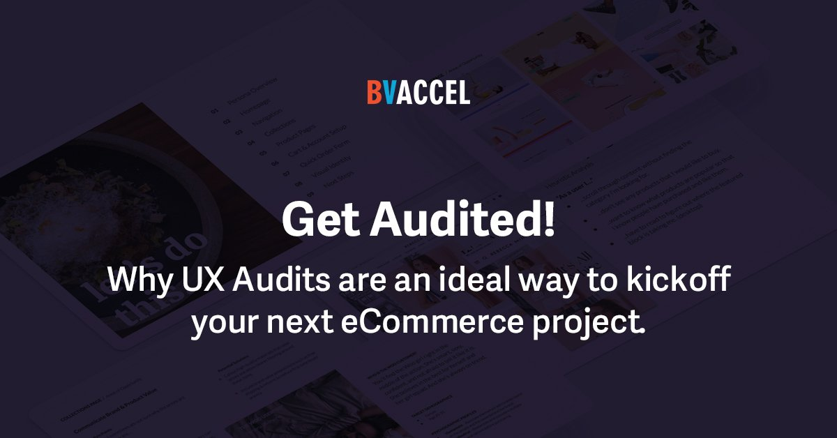 Why UX Audits Are the Best Way to Start an eCommerce Project Featured Image