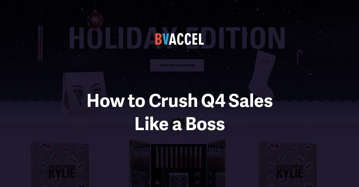 How to Crush Q4 eCommerce Sales Like a Boss Featured Image