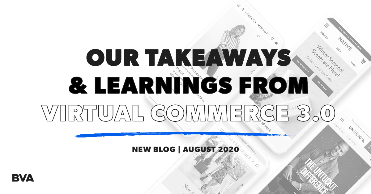 Our Top Takeaways & Learnings from Virtual Commerce 3.0 Featured Image