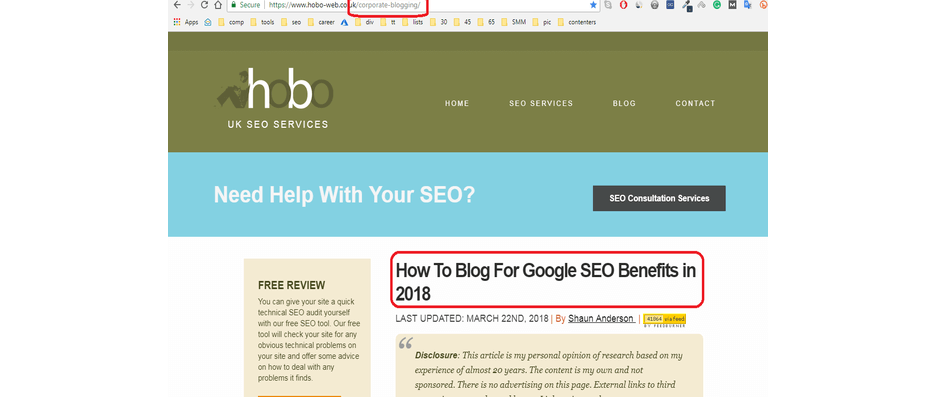 HTML Heading Elements For 2019 | An SEO Perspective