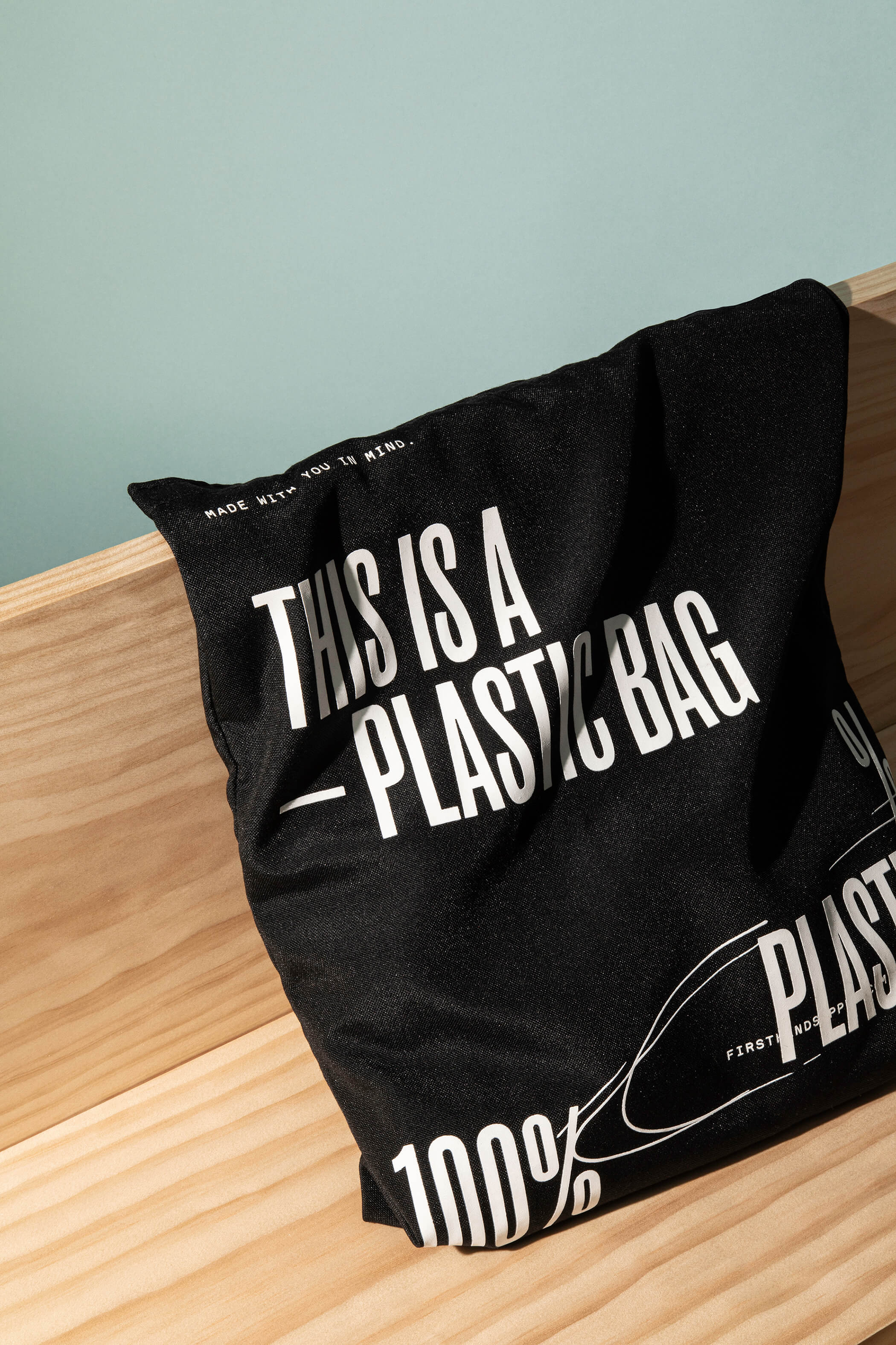 Firsthand Plastic Tote Bag