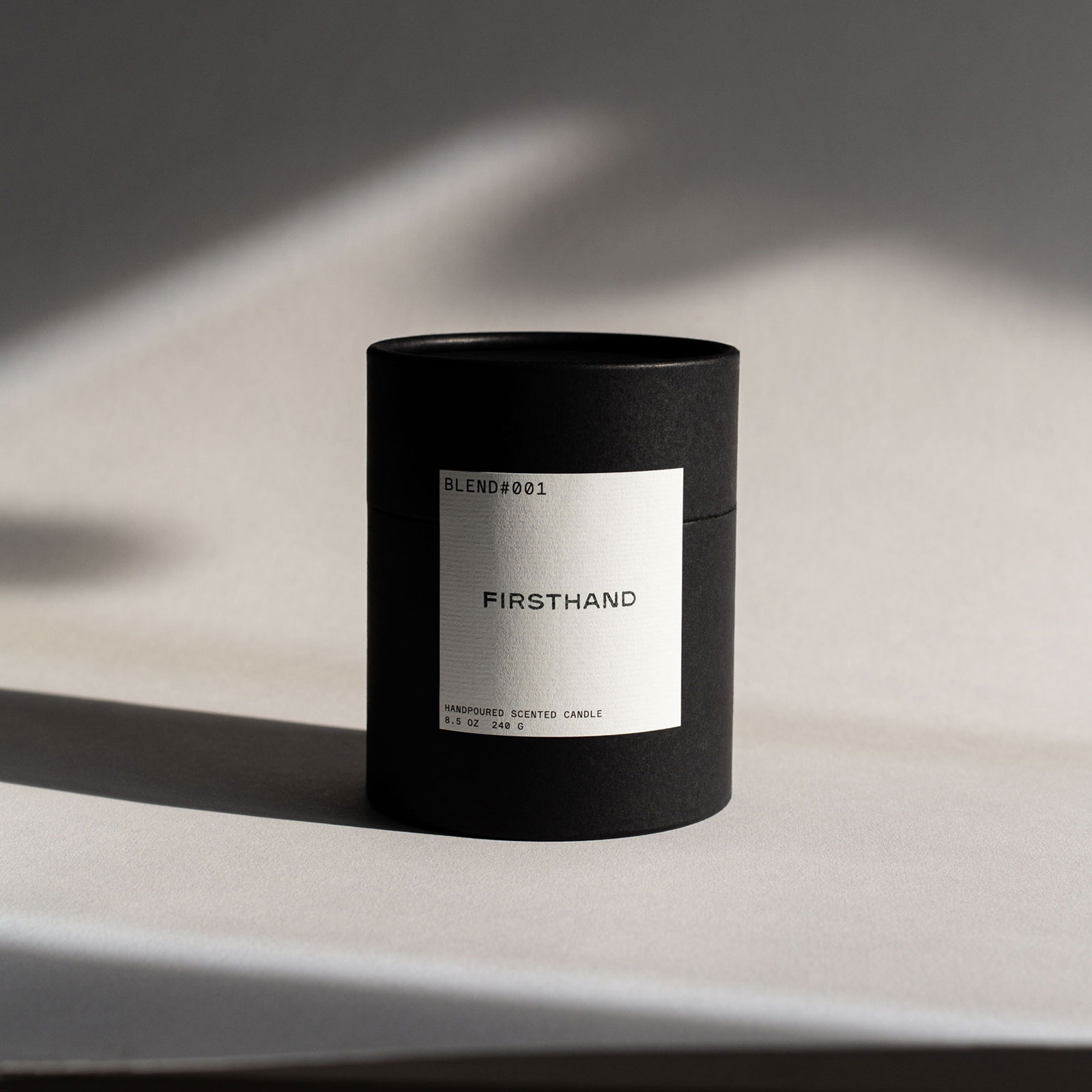 Firsthand - Candle Packaging