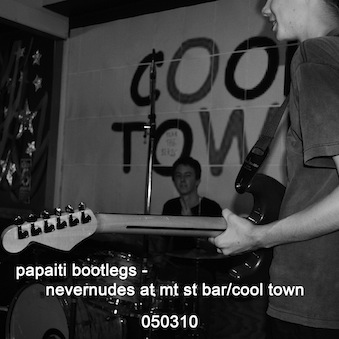 Nevernudes at Mt St Bar/Cool Town