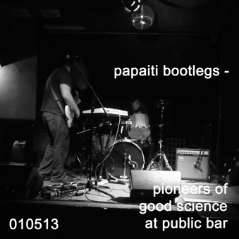 Pioneers of Good Science at Public Bar