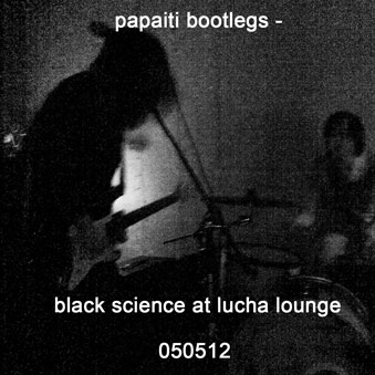 Black Science at Lucha Lounge