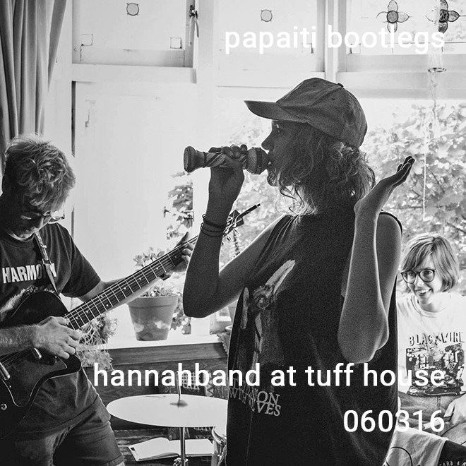 Hannahband at Tuff House