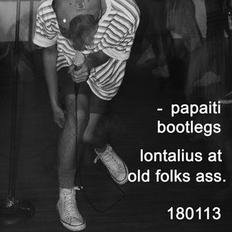 Lontalius at Old Folks Ass.