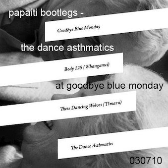 The Dance Asthmatics at Goodbye Blue Monday