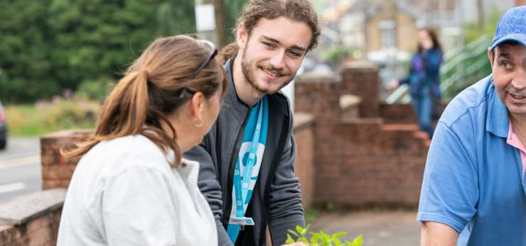 Co-op volunteering in community
