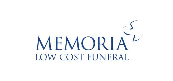 Memoria Low Cost logo - Blue