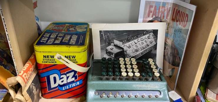 "Memorabilia from the ""Those Were the Days"" Reminiscence Hub"