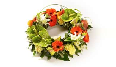 Exotic wreath