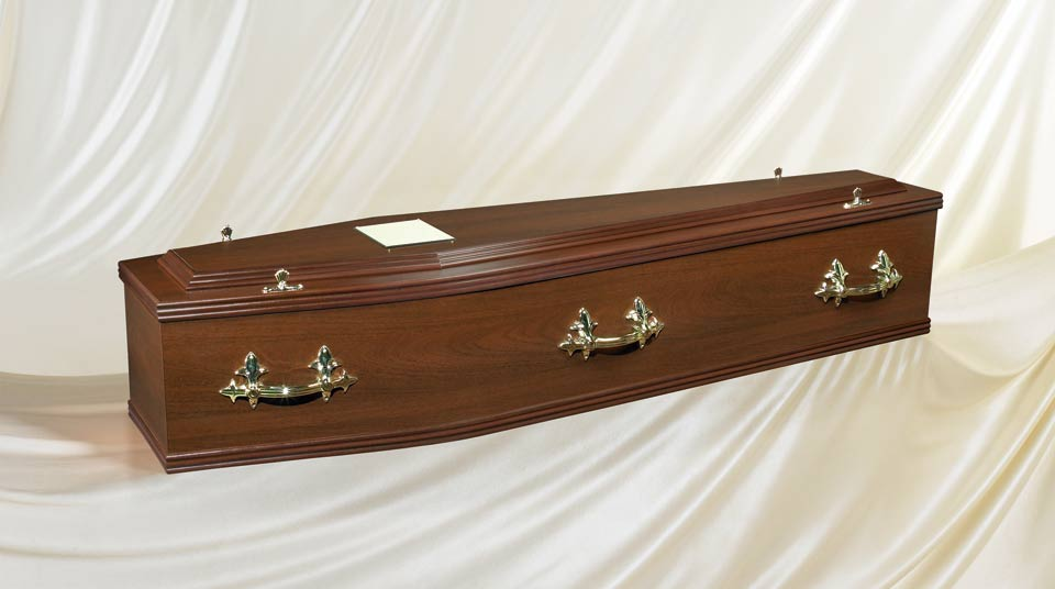 The Rosewood coffin