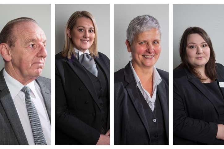 Our highly experienced team in Barnsley is made up of funeral directors, Alan and Holly, and funeral arrangers, Rose, Amanda and Angela. Between them they have an impressive 79 years service for Co-op Funeralcare.  If you're local you may have spotted funeral director Alan working within the community, he's worked for Co-op Funeralcare for over 37 years. He's a family man who likes the odd round of golf. He's been engaged for 30 years, so we're keeping everything crossed that 2021 is his year.