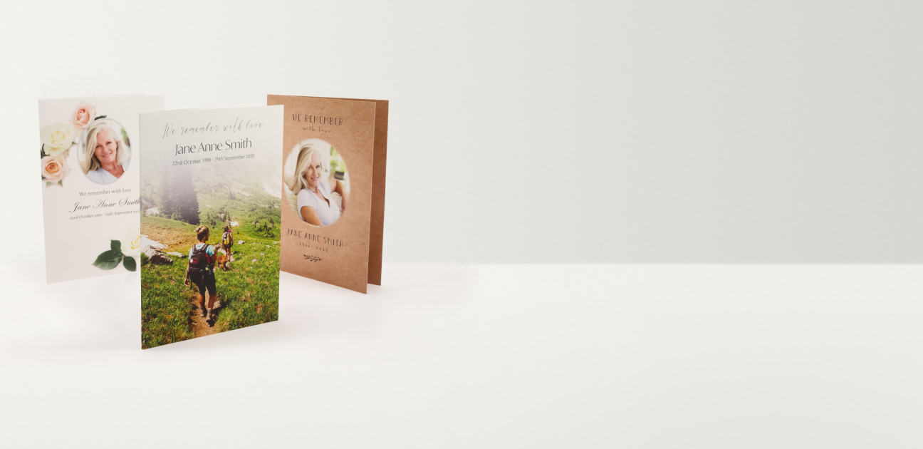 Three Printed booklets with a variety of designs