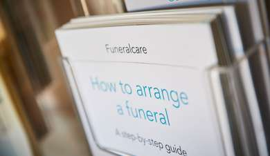 Step by step brochure to funeralcare.