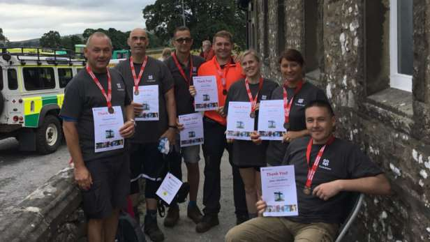 Three peaks Challange for British Red Cross