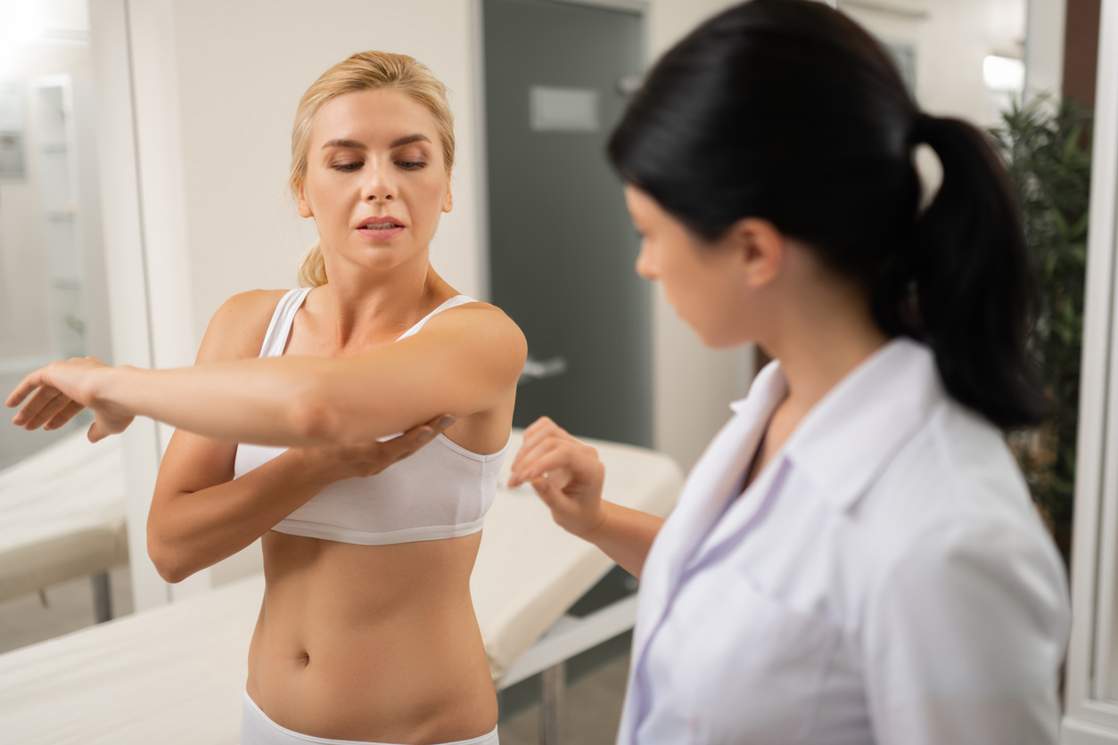 Lump under armpit - when to worry