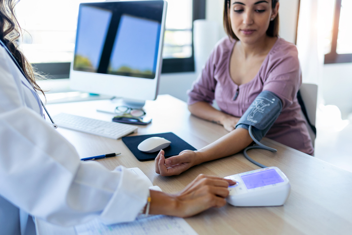 What are the health risks of having high blood pressure?