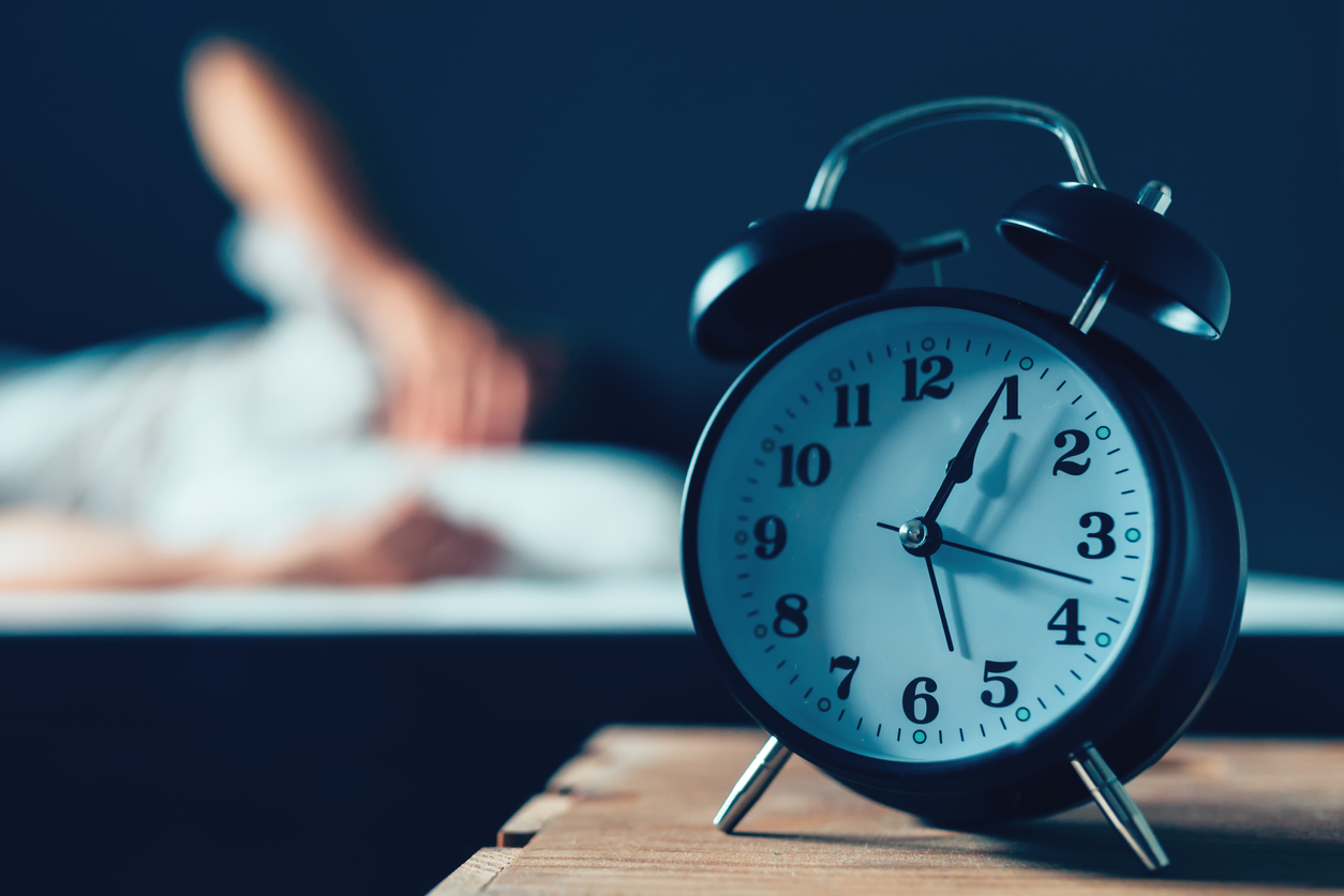 When to see a doctor about poor sleep - alarm clock