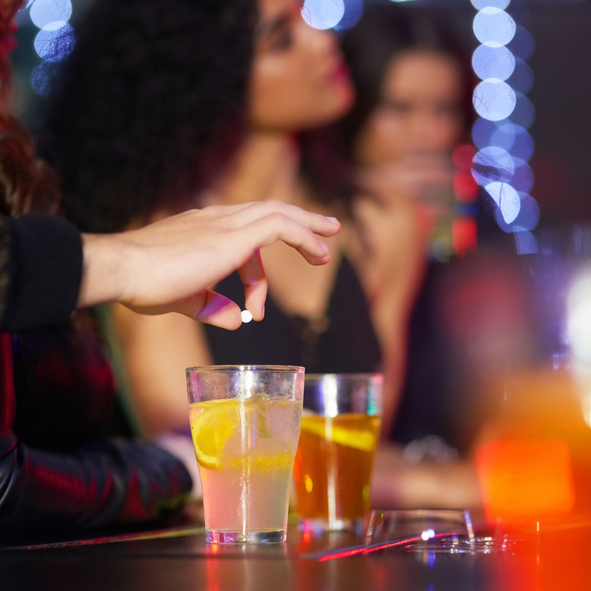 Drink spiking and date rape drugs
